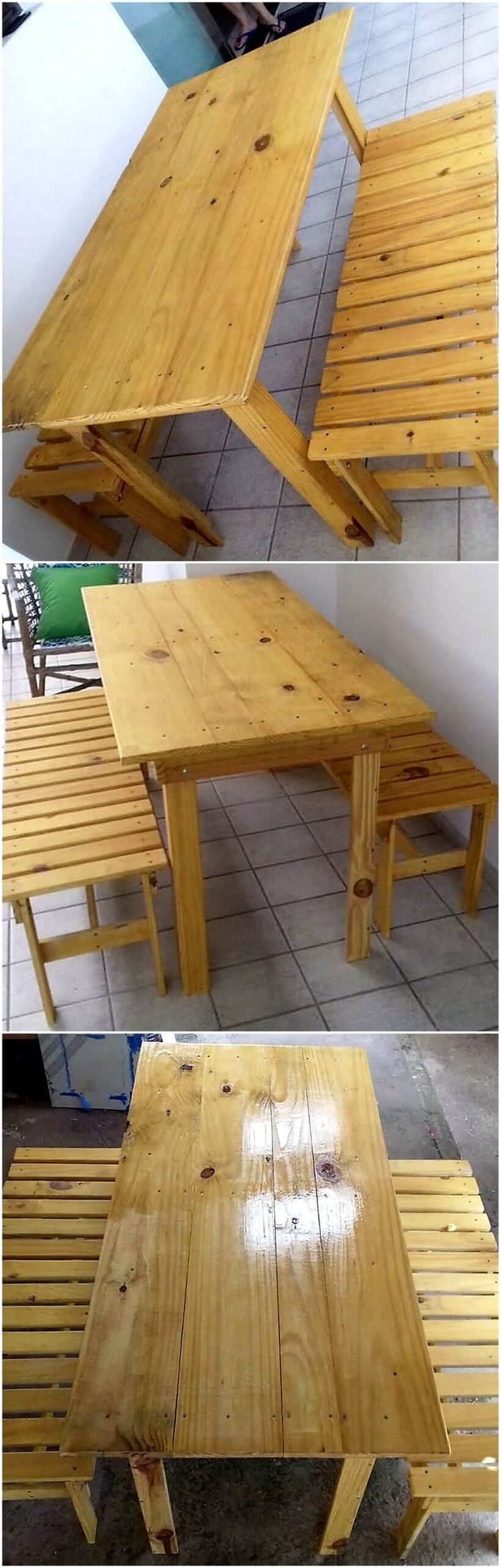 Cool Ideas For Wood Pallet Recycling Projects Wood Pallet Furniture # Muebles Timotea