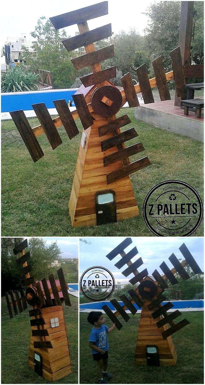 pallet garden decor art craft