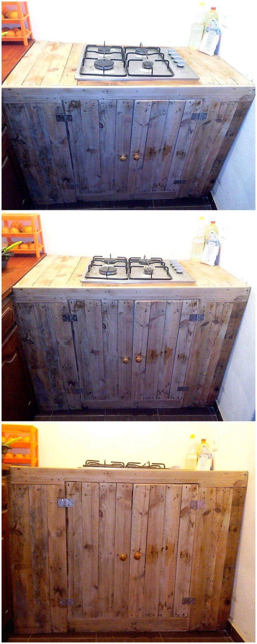 pallet kitchen plan