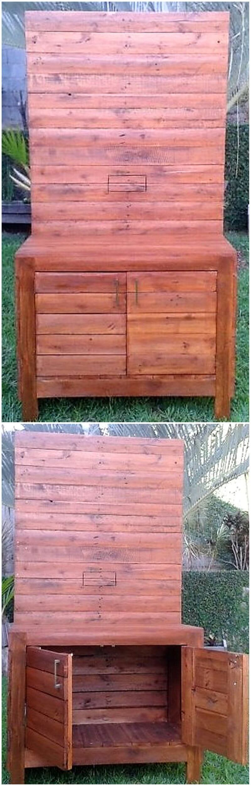 pallet tv stand project