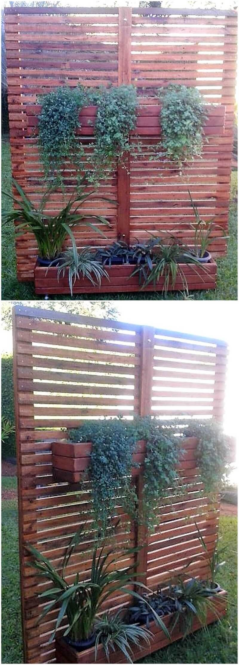 pallet verticle planter plan