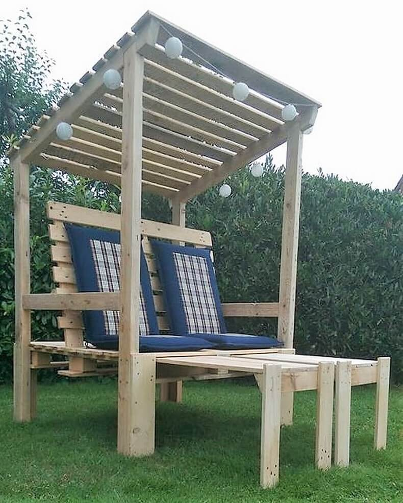 pallets made pallet strandkorb chair