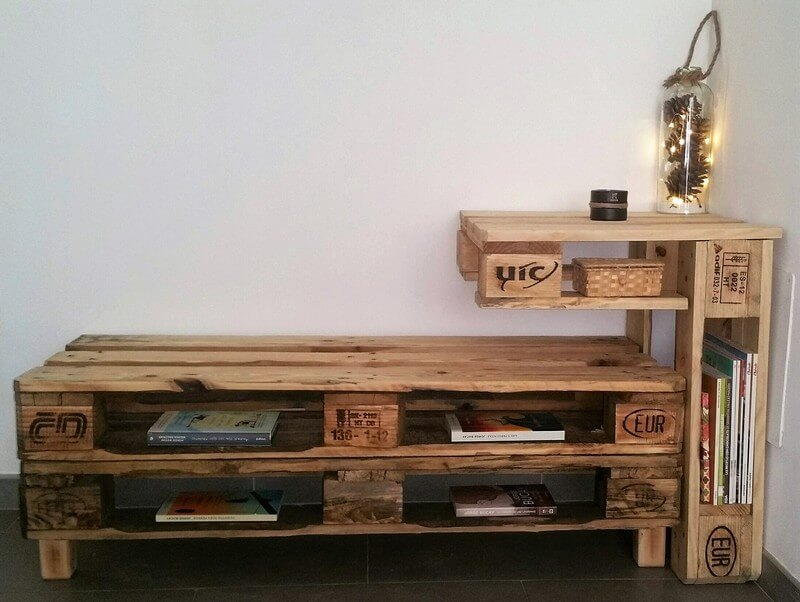 reclaimed pallet idea