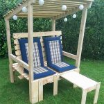 Wooden Pallet Garden Strandkorb Chair Plan