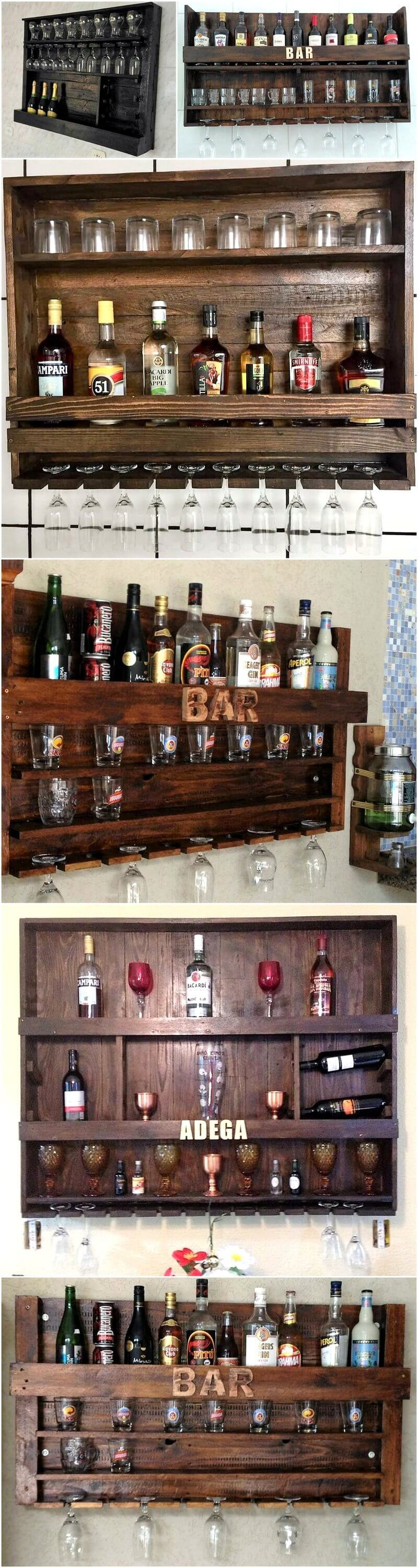 reused pallet bars