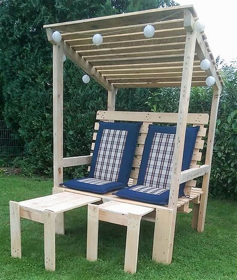 wood pallet pallet strandkorb chair
