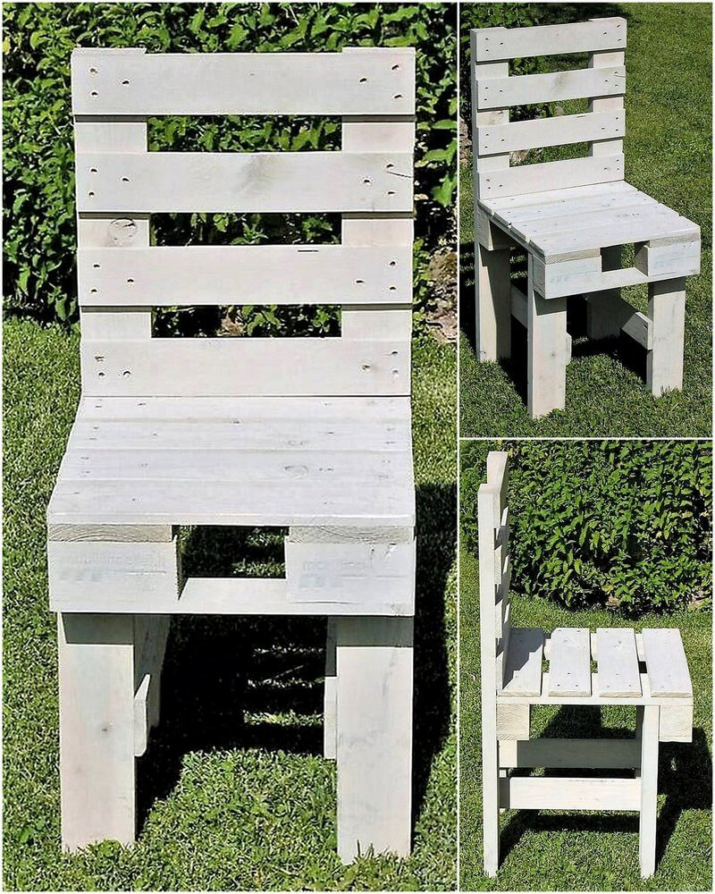 chair made with pallets