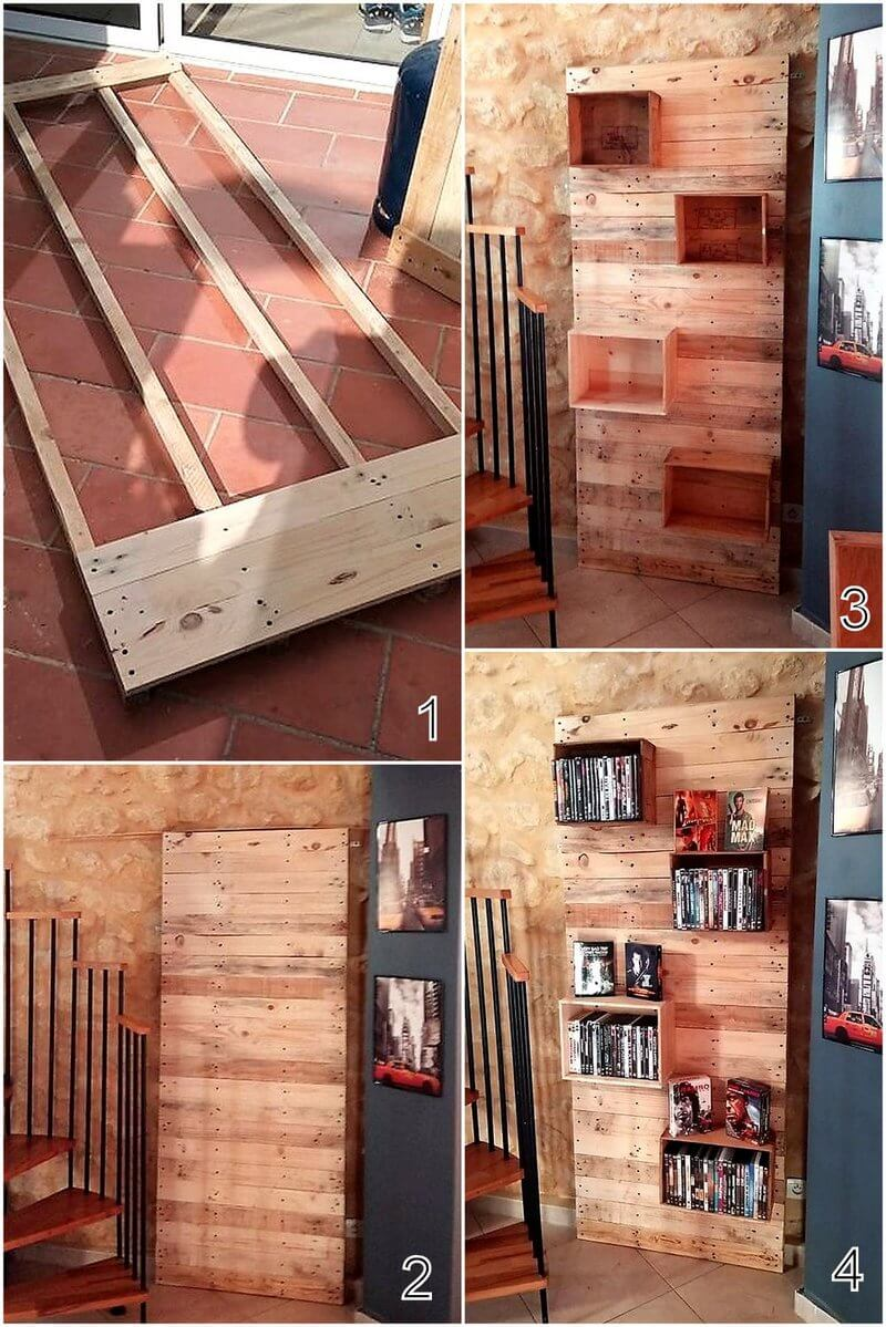 diy pallet decor shelf plan