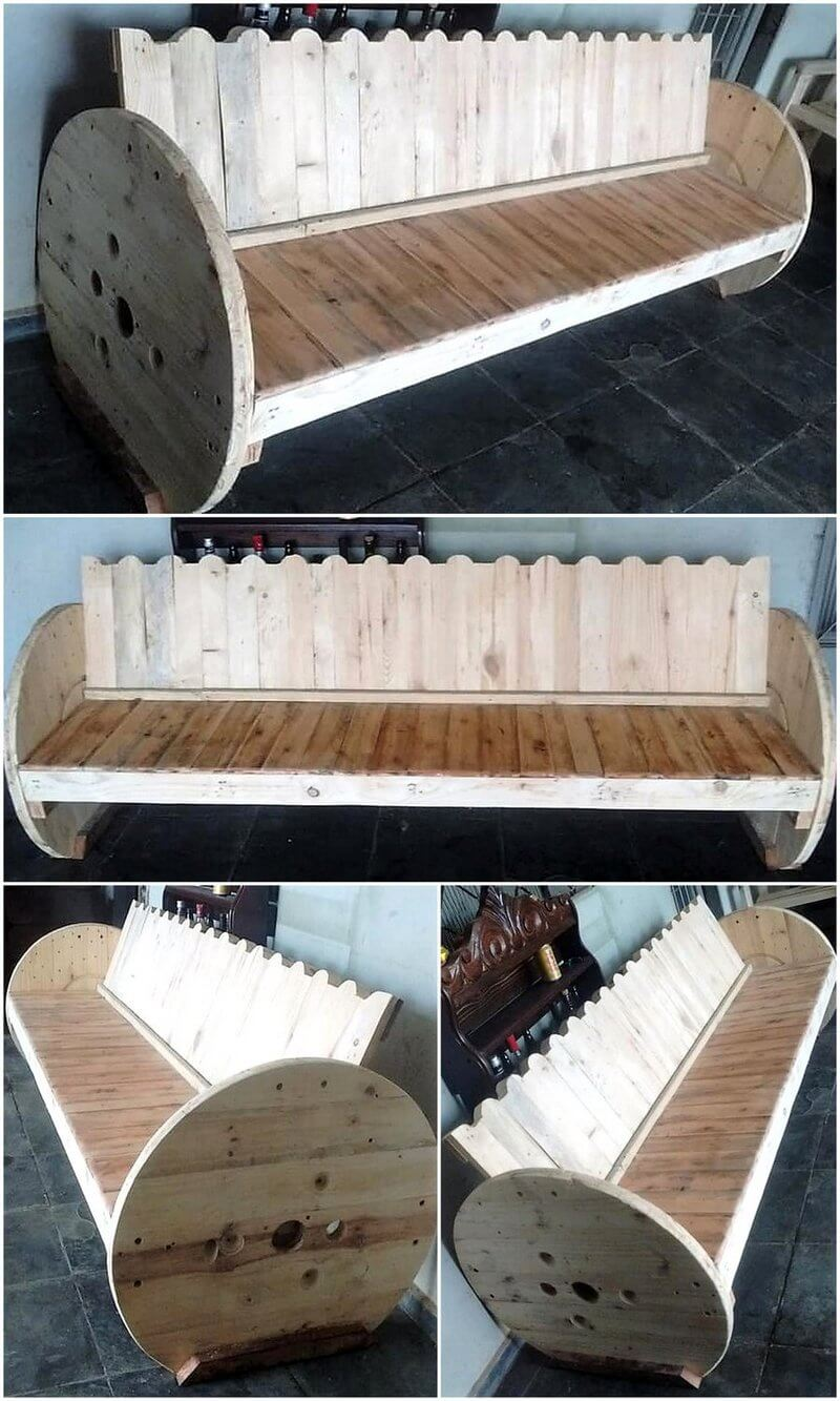 giant pallet bed plan