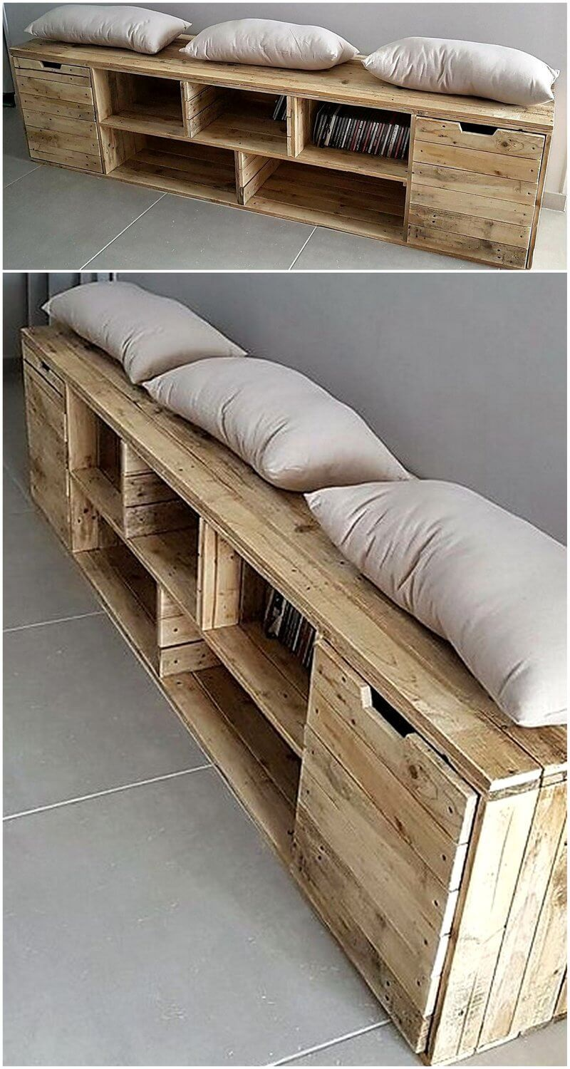 unique and easy wood pallet reshaping ideas wood pallet furniture. Black Bedroom Furniture Sets. Home Design Ideas