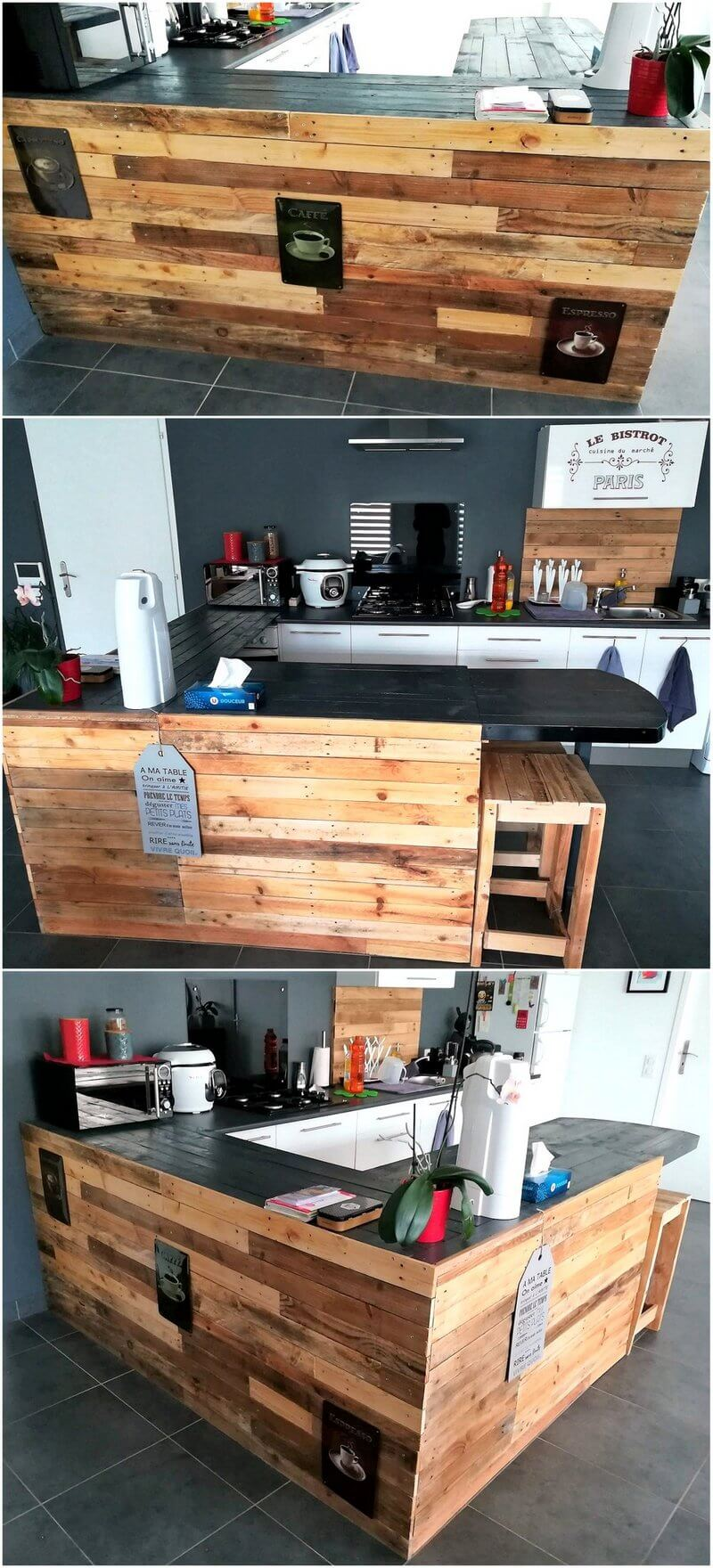 pallet kitchen plan