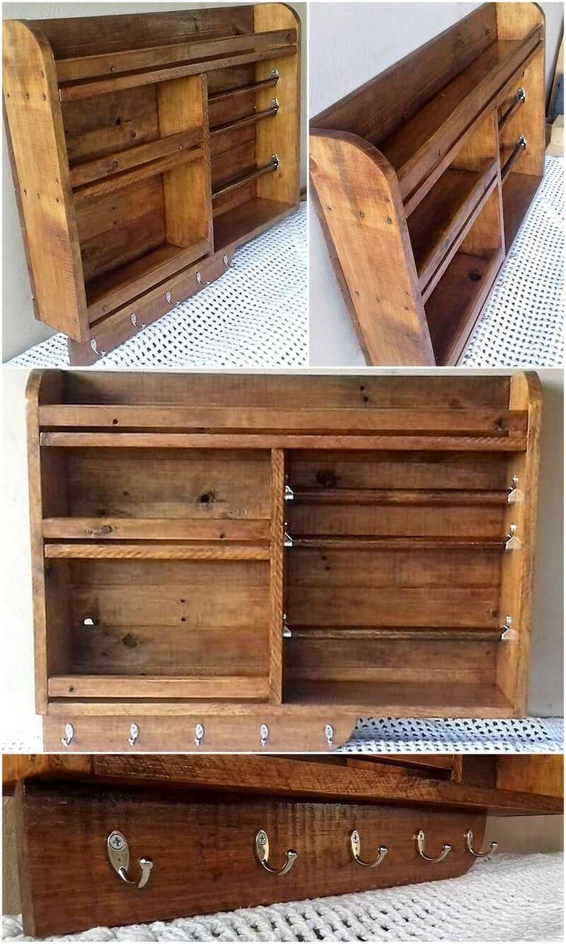 pallet kitchen shelf idea