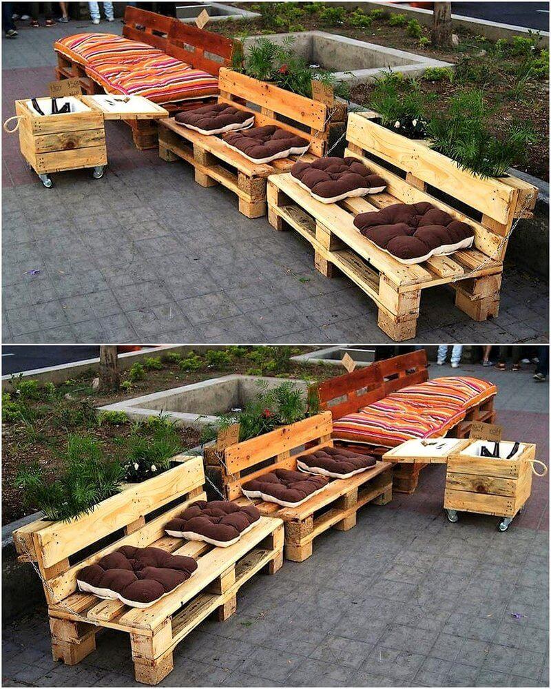 pallet outdoor furniture plan