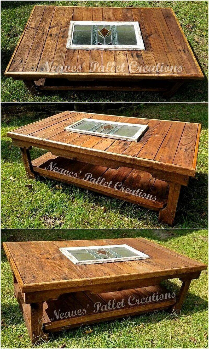 pallet rustic table idea