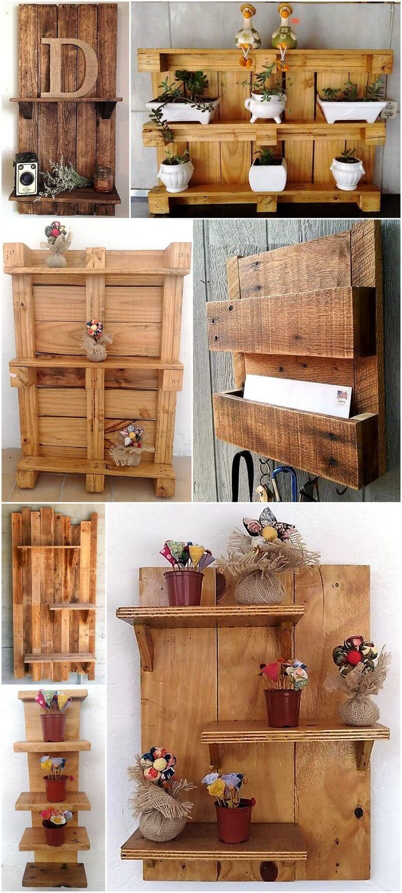 pallet shelving art
