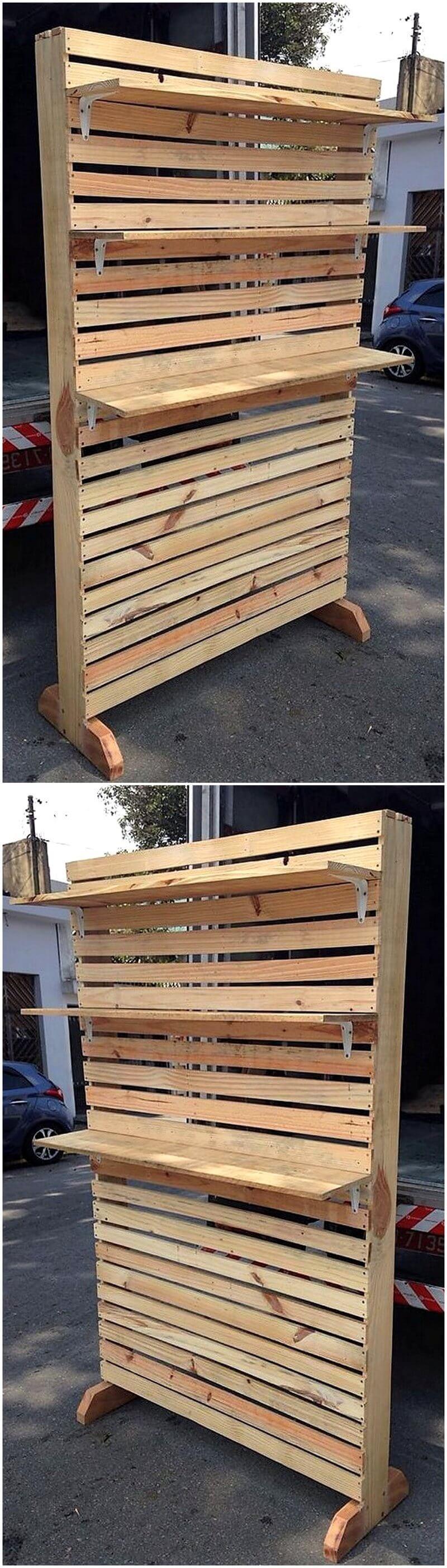 pallet shelving rack