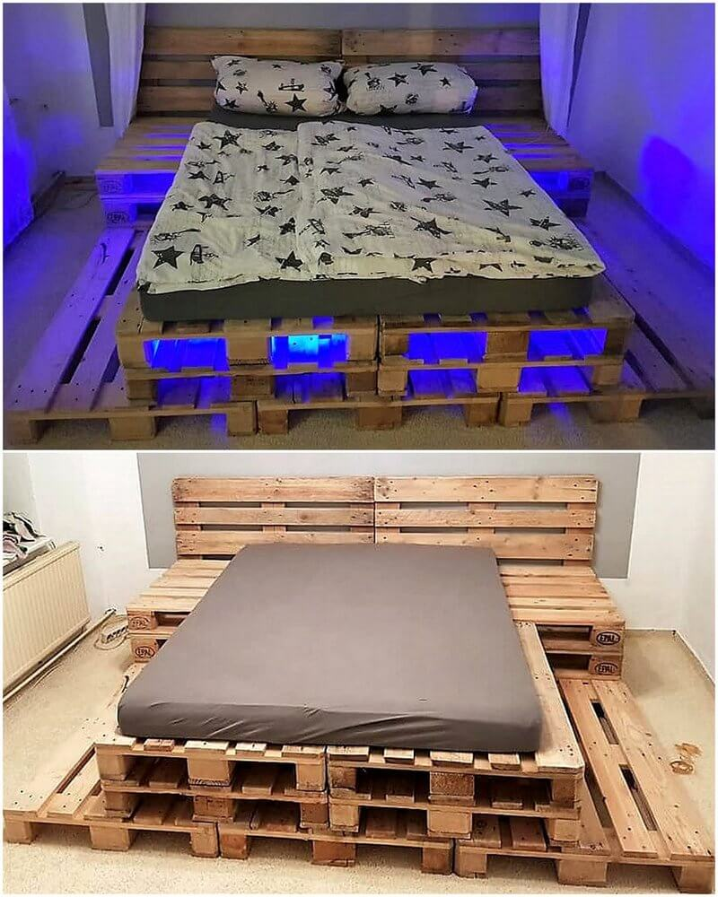 pallet simple bed plan