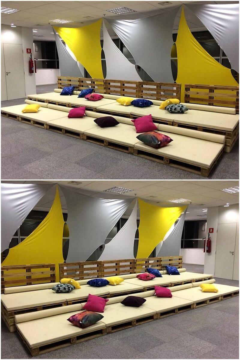 pallet sofa plan