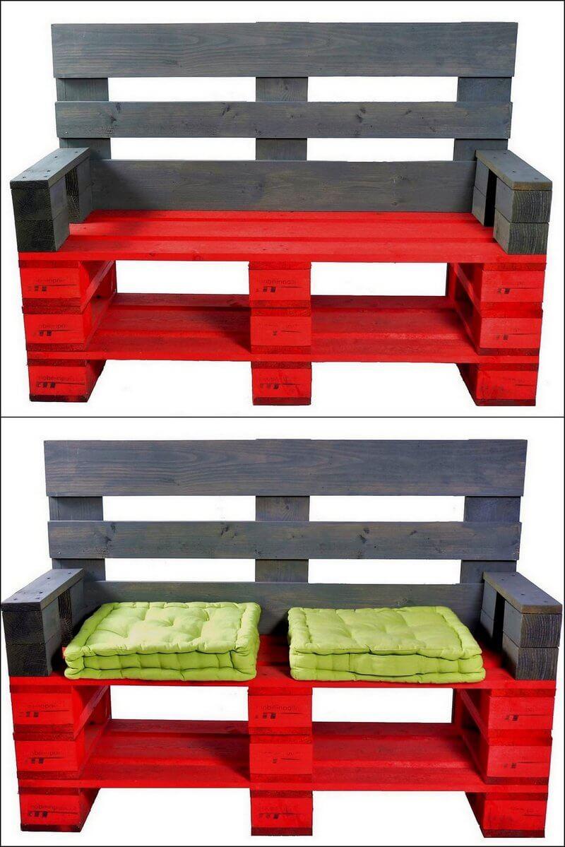 pallets bench plan