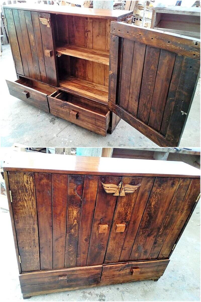 pallets made chest