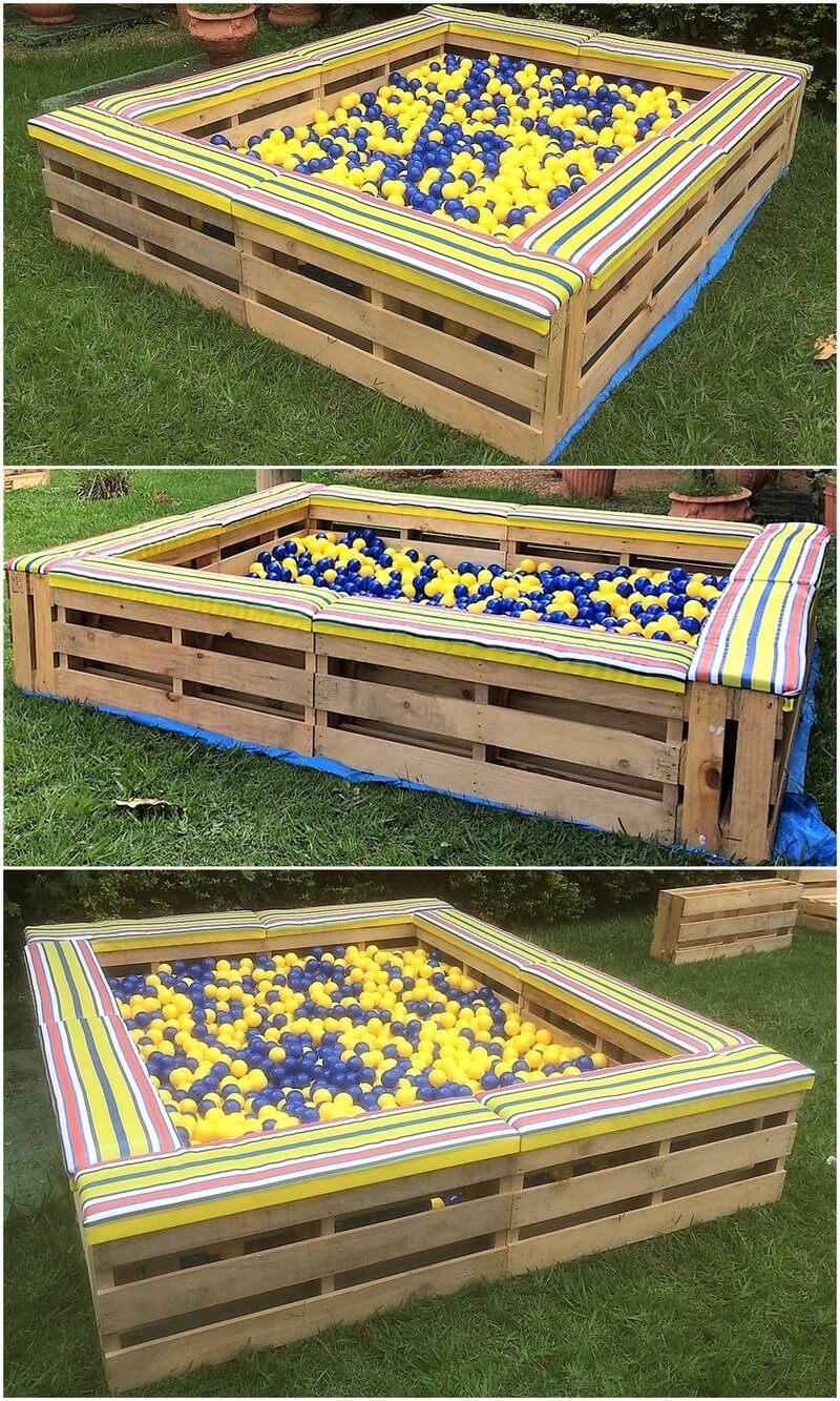 pallets made kids playbox
