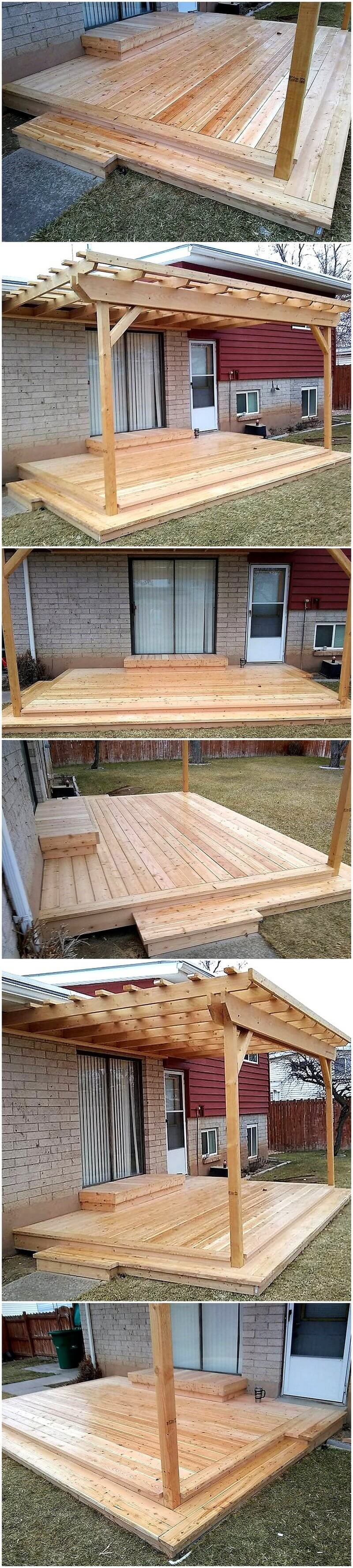 Amazing Ideas For Wooden Pallets Repurposing