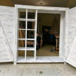 Repurposed Wooden Pallet Dressing Closet