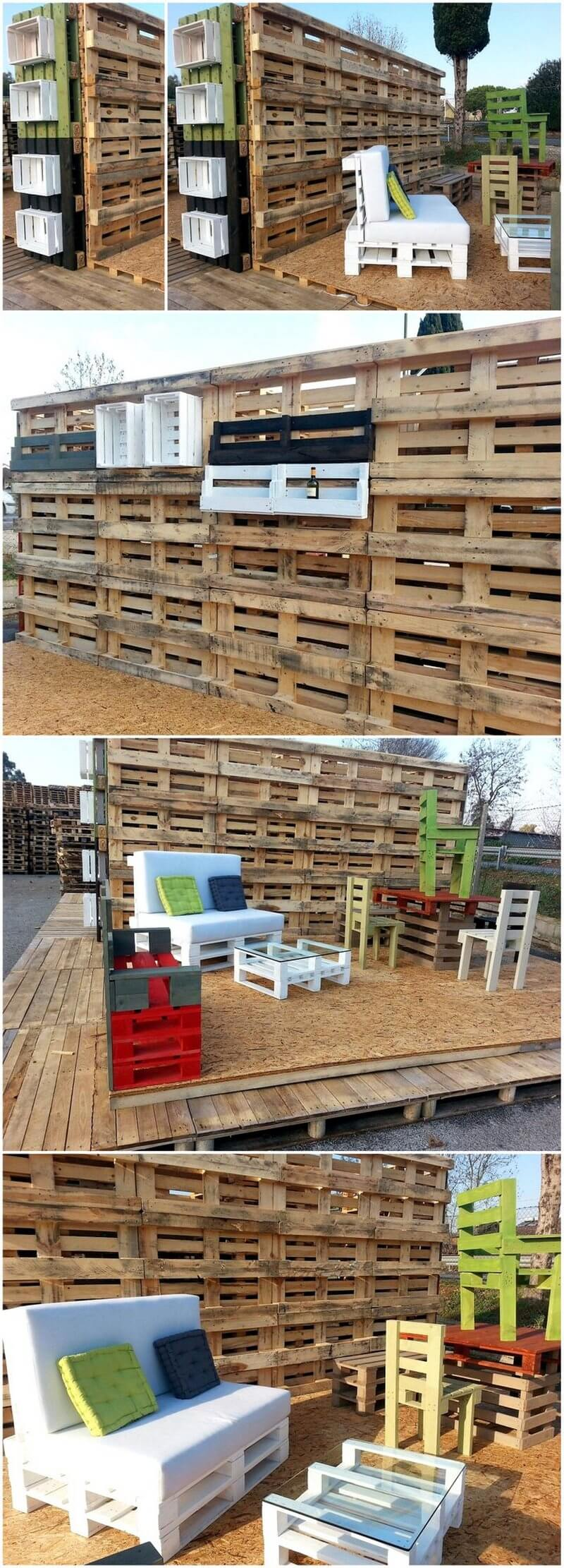 recycled pallet creations
