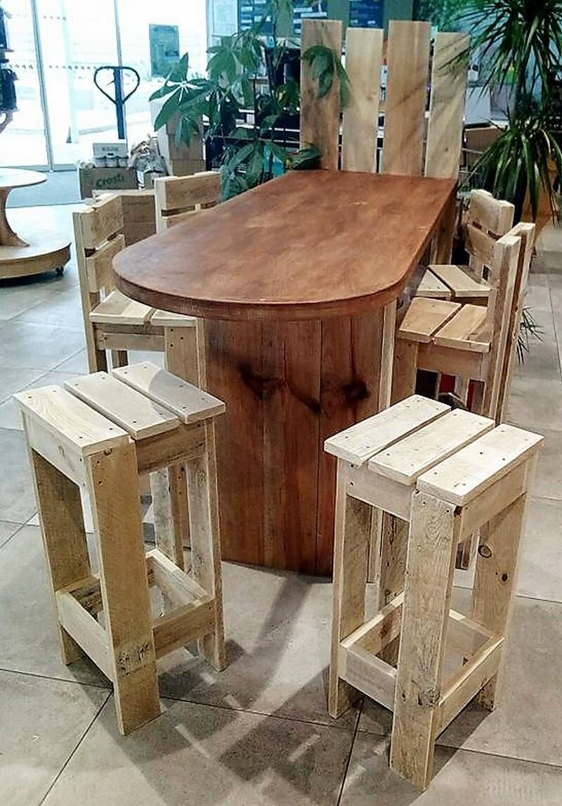 wood pallet furniture idea
